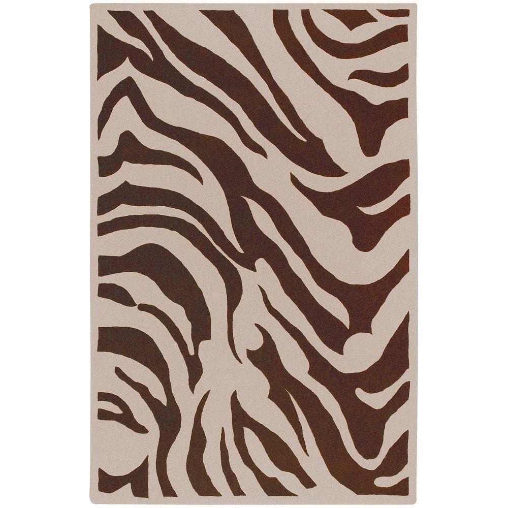 Stanton Chocolate 8 ft. x 11 ft. Area Rug