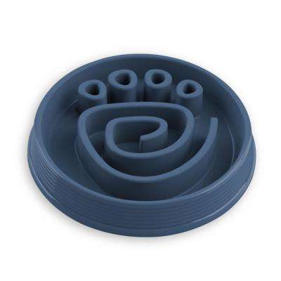 Slow Chow Paw Maze Medium Feeder in Blue
