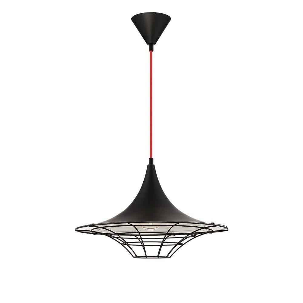Windsor Collection 1-Light Black Pendant