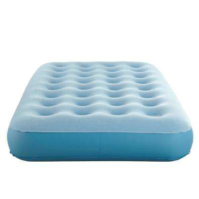 10 in. Sleep Express Comfort Top Coil Twin Air Mattress with External Pump