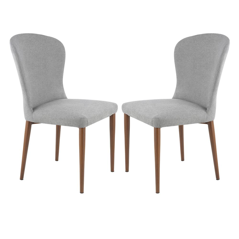 Poly And Bark Creston Grey Dining Chair Set Of 2