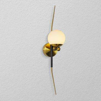 Chianti 5 in. Antique Brass LED Sconce