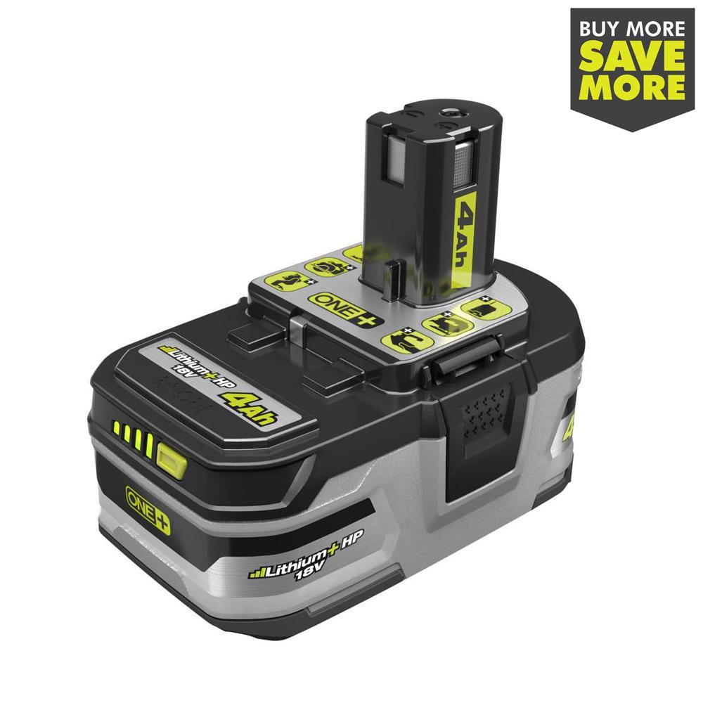 18-Volt ONE+ Lithium-Ion 4.0 Ah LITHIUM+ HP High Capacity Battery