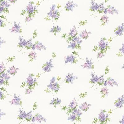 Lilac Sprigs Wallpaper