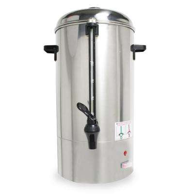 40-Cup Coffee Percolator in Stainless Steel