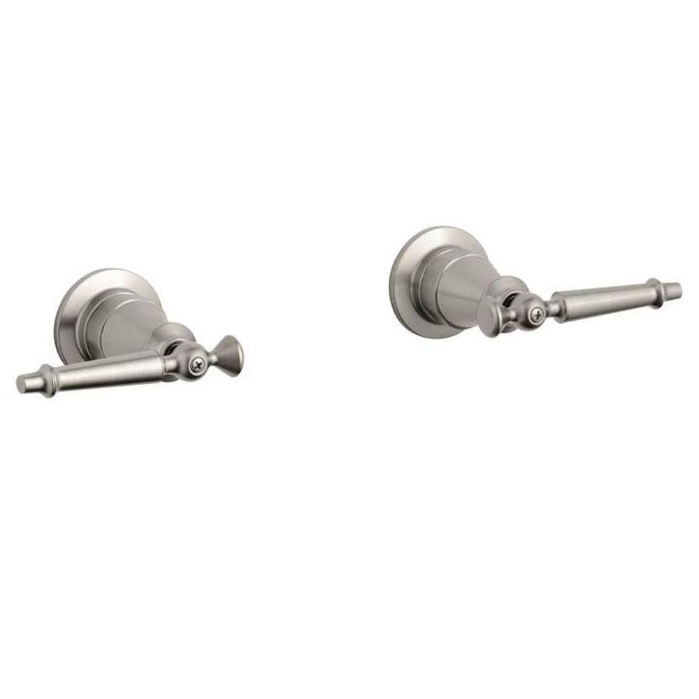 KOHLER Antique Wall-Mount Handles (Valve Included)-K-124-4-BN ...