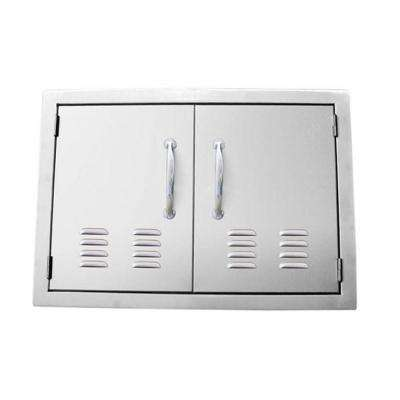 Signature Series 36 in. 304 Stainless Steel Double Access Door with Vents