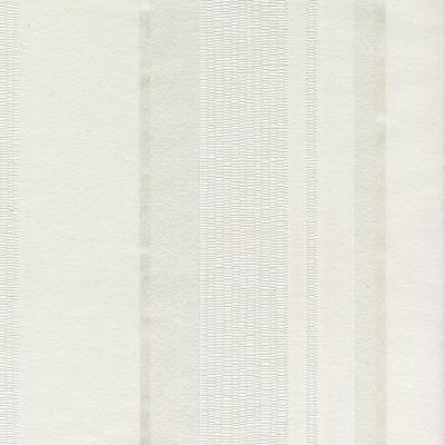 56.4 sq. ft. Cricket White Stripe Wallpaper