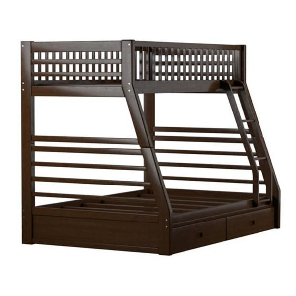 Amelia Brown Twin Bed with Storage