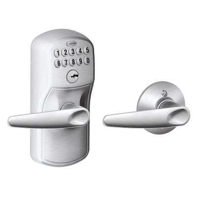 Keypad Satin Chrome Jazz Lever with Plymouth
