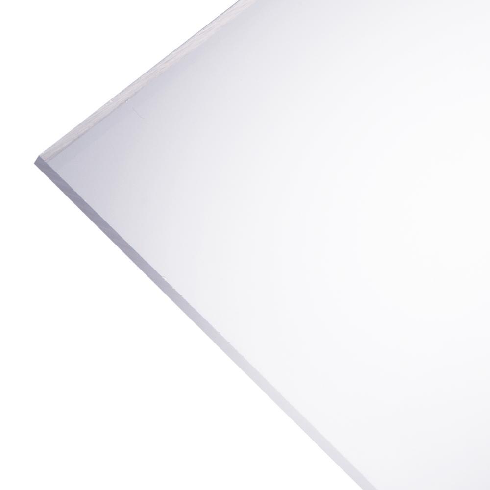 Optix 24 In X 32 In X 118 In Clear Dry Erase Acrylic