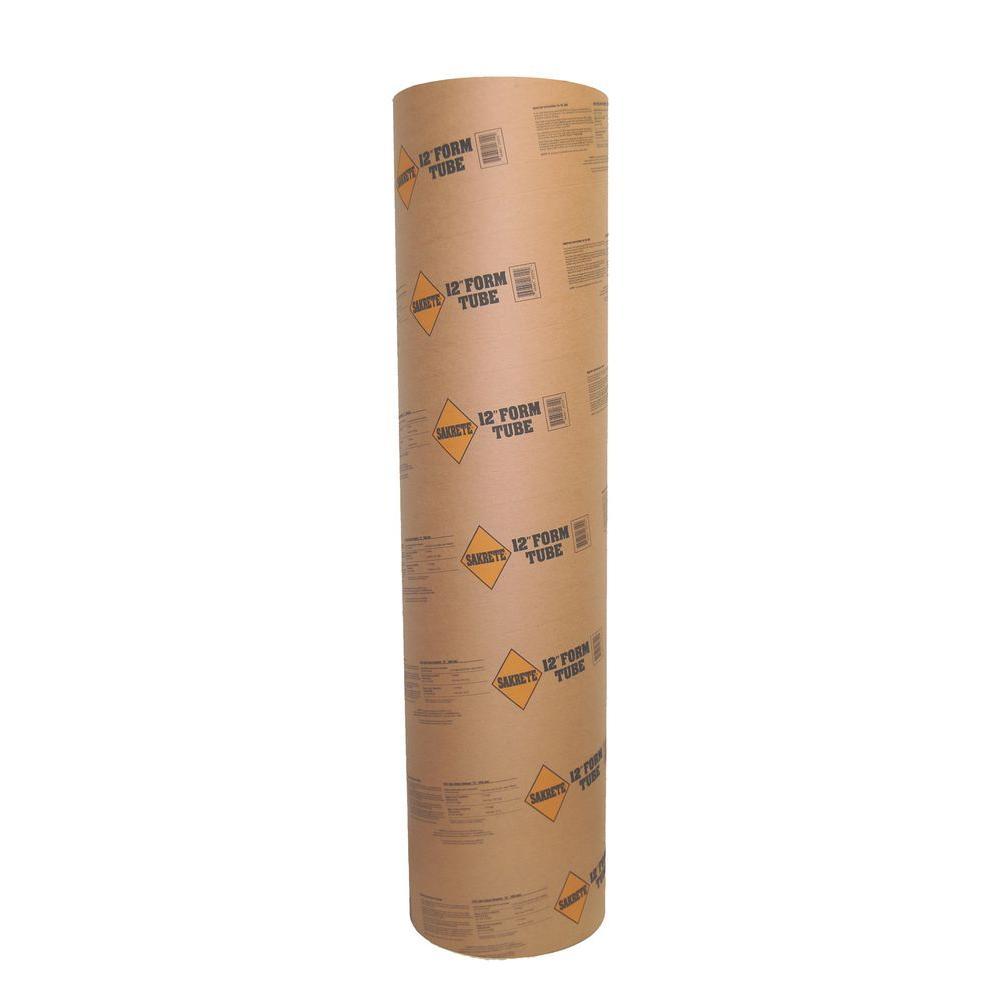 106445879a SAKRETE 12 in. x 48 in. Tube for Concrete-200077374 - The Home Depot