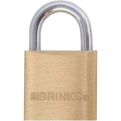 1-3/16 in. (30 mm) Solid Brass Keyed Lock