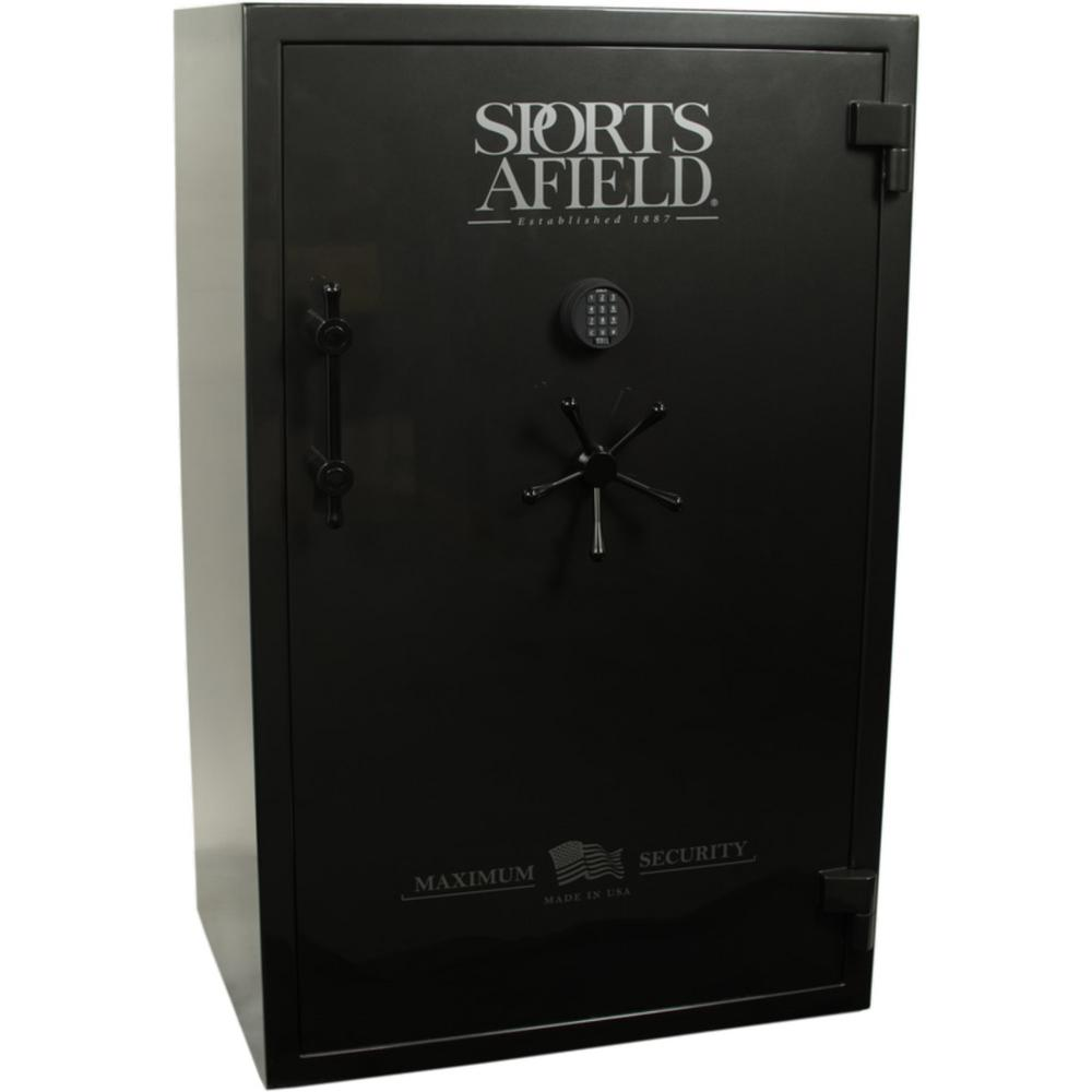 Maximum Security 40-Gun Fire Rated, UL E-Lock Gun Safe, Gun Metal