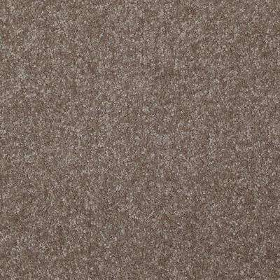 Carpet Sample - Kingship II - Color Breeze Way Texture 8 in. x 8 in.