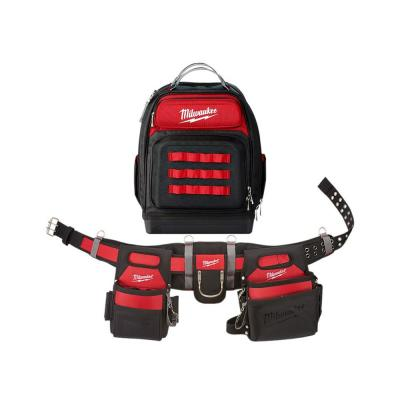 Adjustable Electricians Work Belt with Ultimate Jobsite Backpack