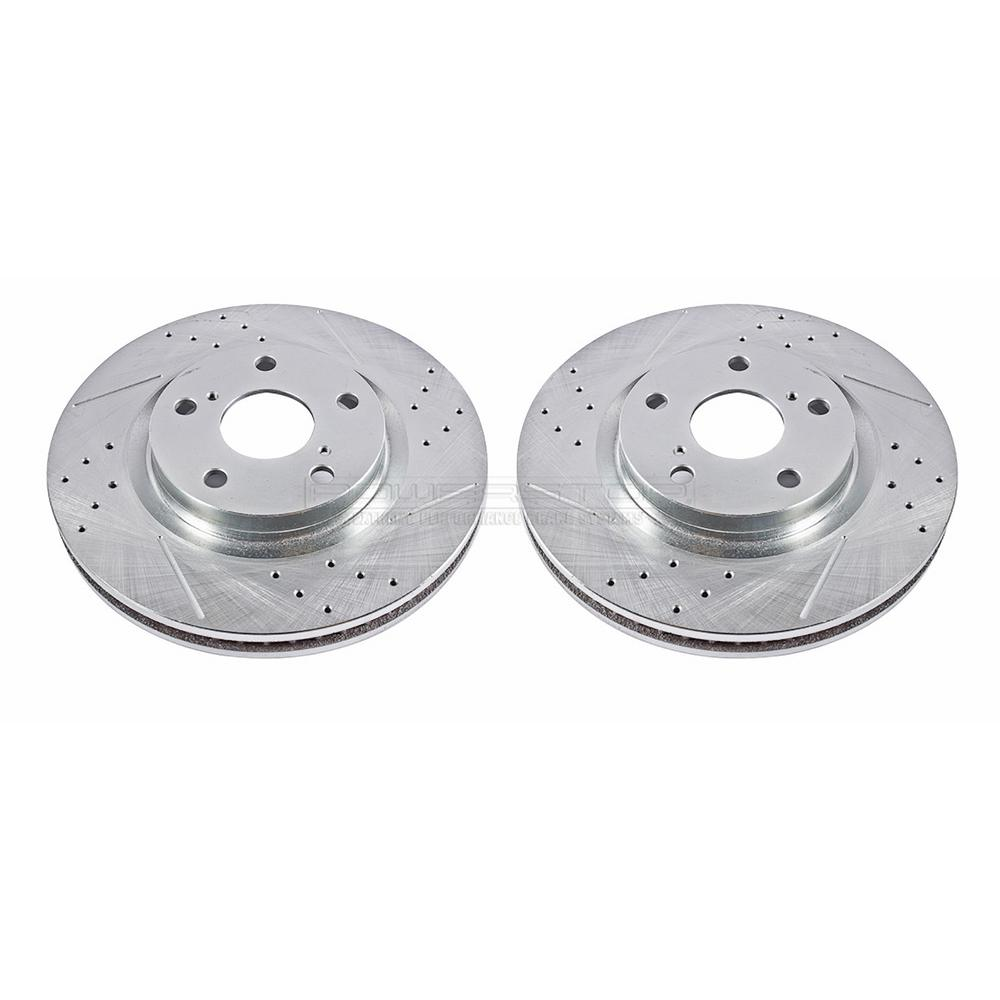 Disc Brake Rotors >> Power Stop Disc Brake Rotor Set Jbr1127xpr The Home Depot