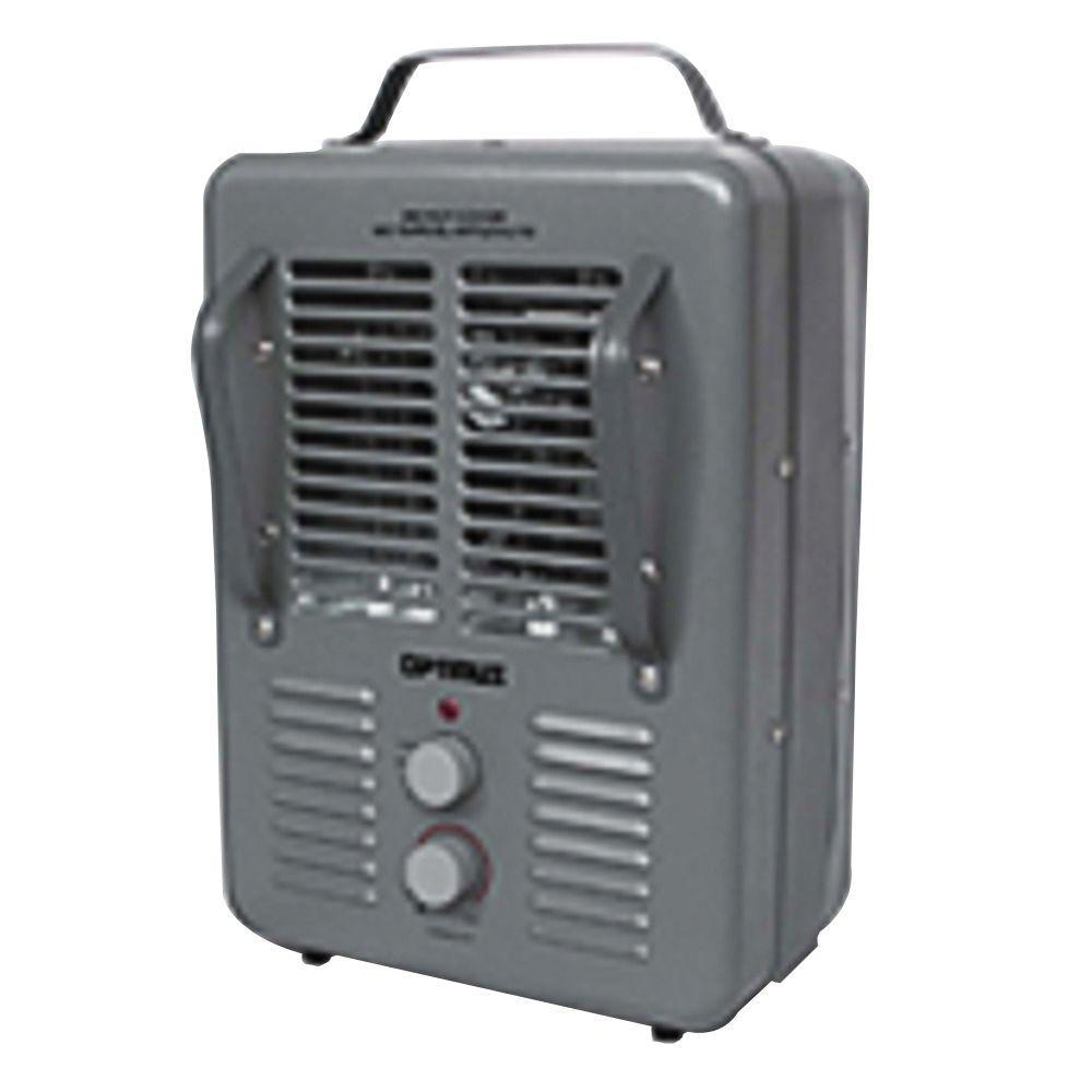 1300-Watt to 1500-Watt Portable Utility Fan Heater with Thermostat Full Size