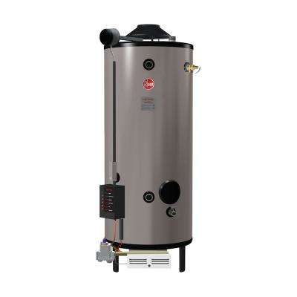 Commercial Universal Heavy Duty 85 Gal. 399.9K BTU Natural Gas ASME Tank Water Heater