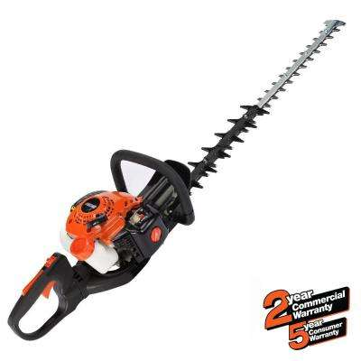 24 in. 21.2cc Gas 2-Stroke Cycle Hedge Trimmer