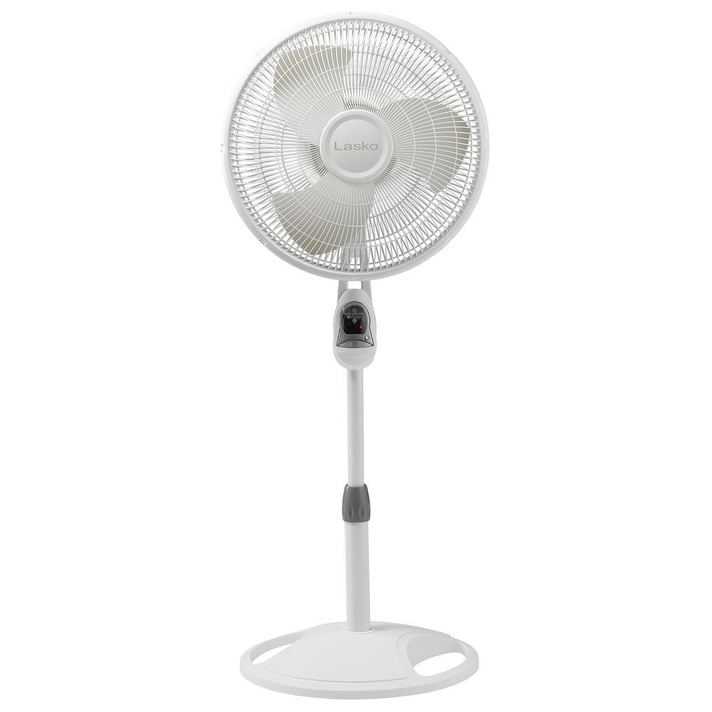 16 in. Remote Control Stand Fan