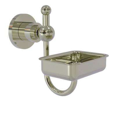 Astor Place Wall Mounted Soap Dish in Polished Nickel