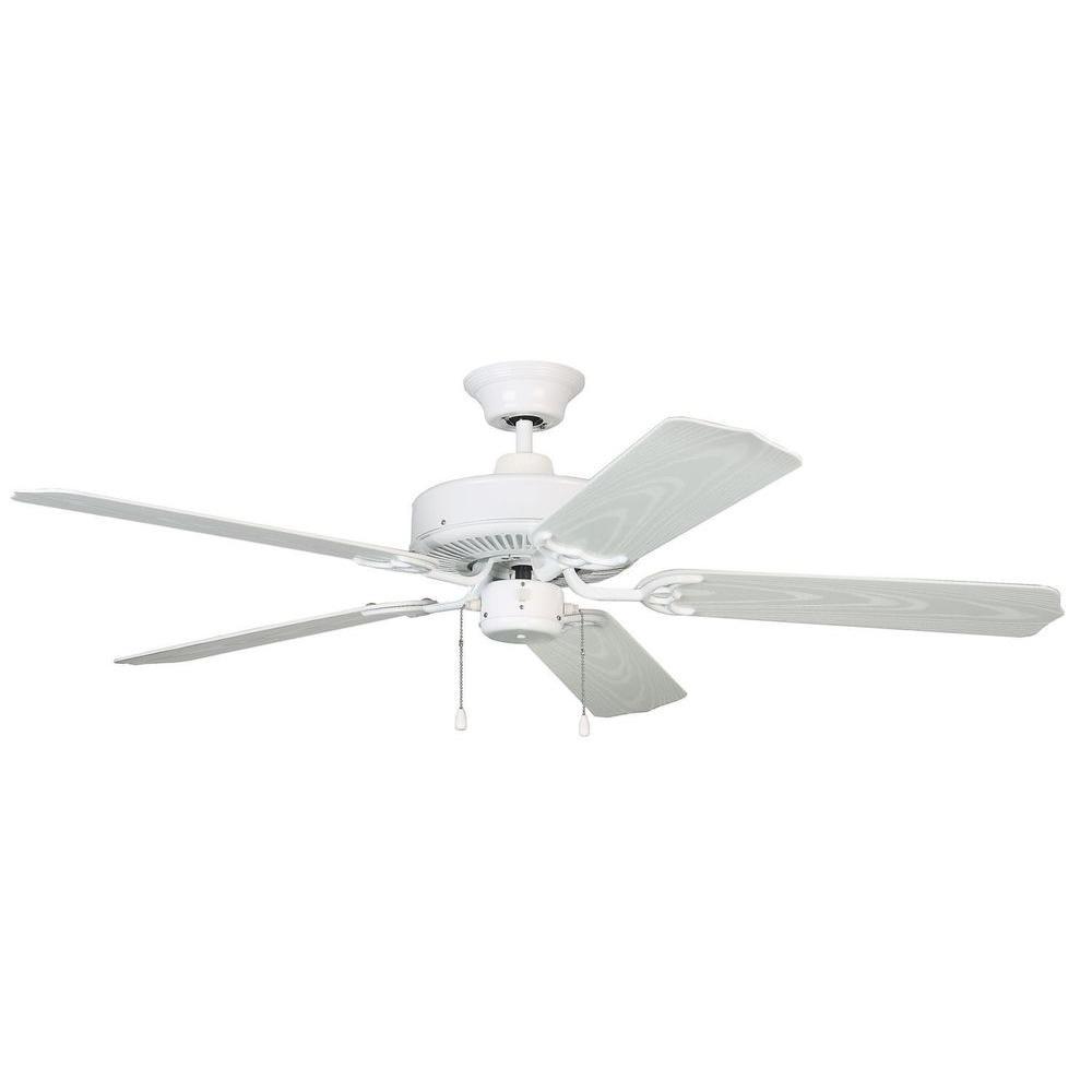 Filament Design Cassiopeia 52 in. White Indoor Ceiling Fan