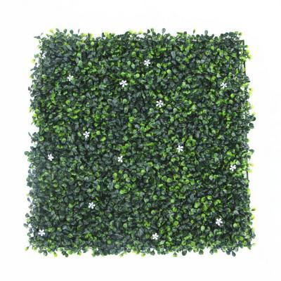 20 in. H x 20 in. W GorgeousHome Artificial Boxwood Hedge Greenery Panels (MilanFlower_12-pc)