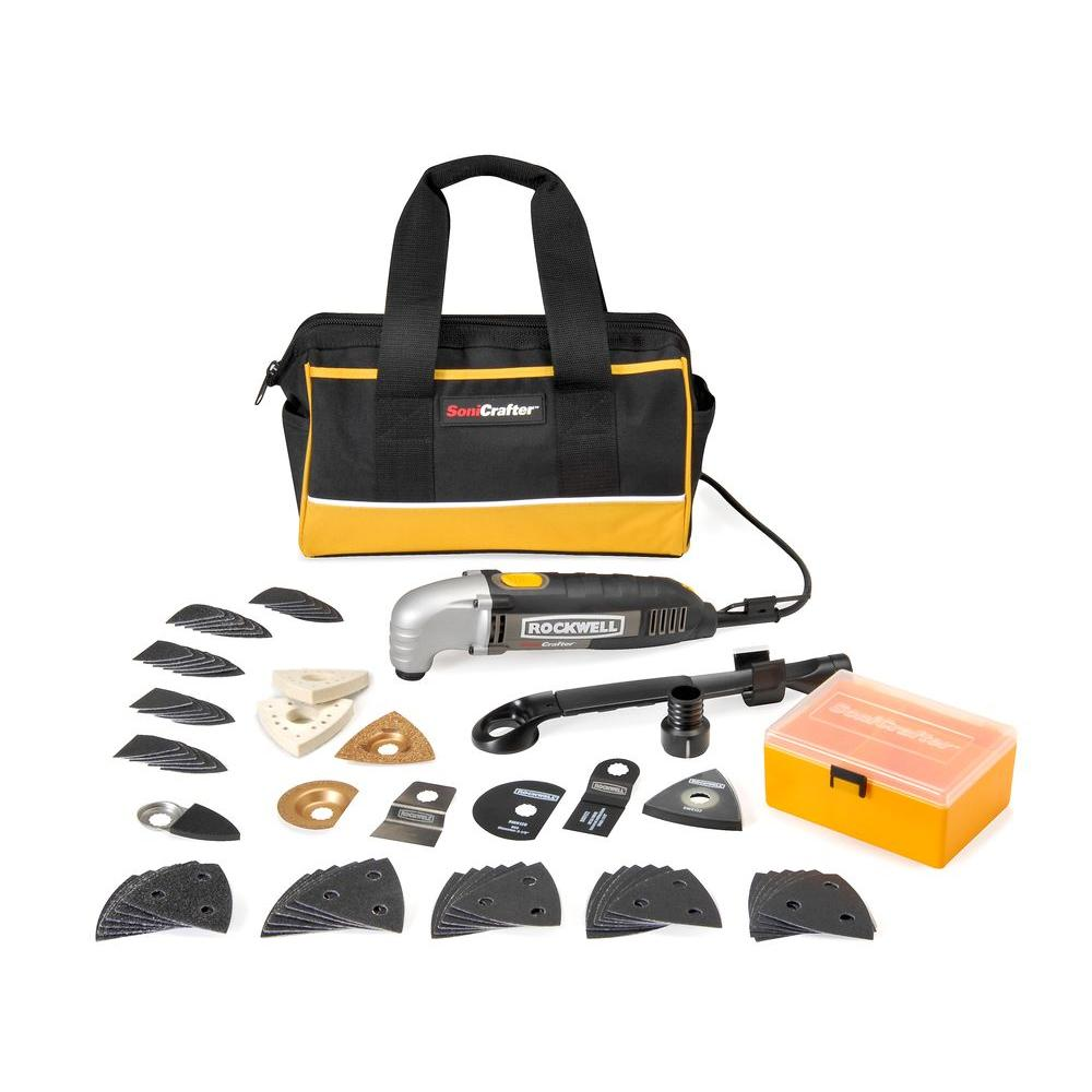 Rockwell Sonicrafter Variable Speed Deluxe Professional Kit(72-Pieces)