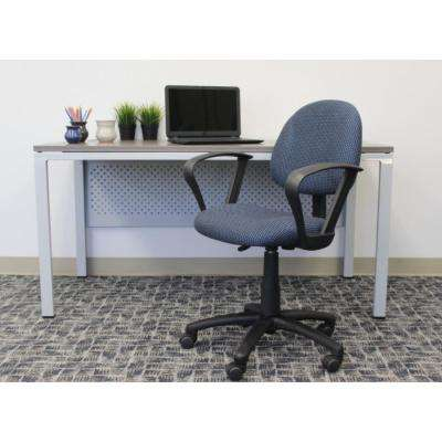 Blue Deluxe Posture Chair with Loop Arms