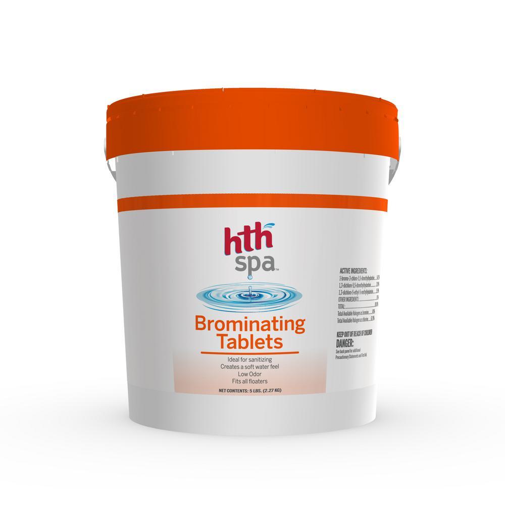 HTH 5 lbs. Spa Bromine Tablets