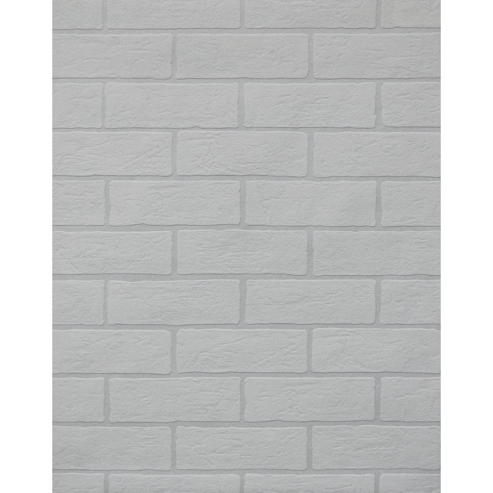 York Wallcoverings Inc Brick Paintable Wallpaper Pt9442