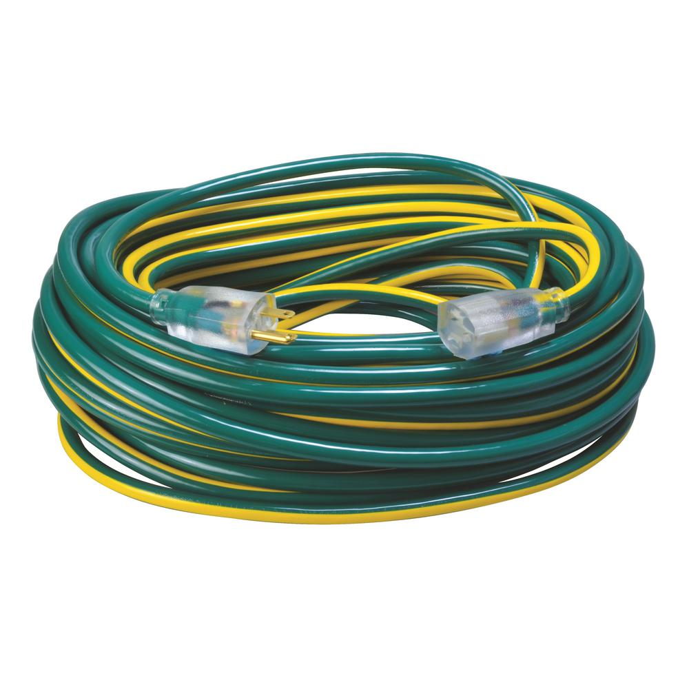 Southwire 100 ft. 12/3 SJTW Hi-Visbility Multi-Color Outdoor Heavy on yellow engine, yellow clutch, yellow wheels,
