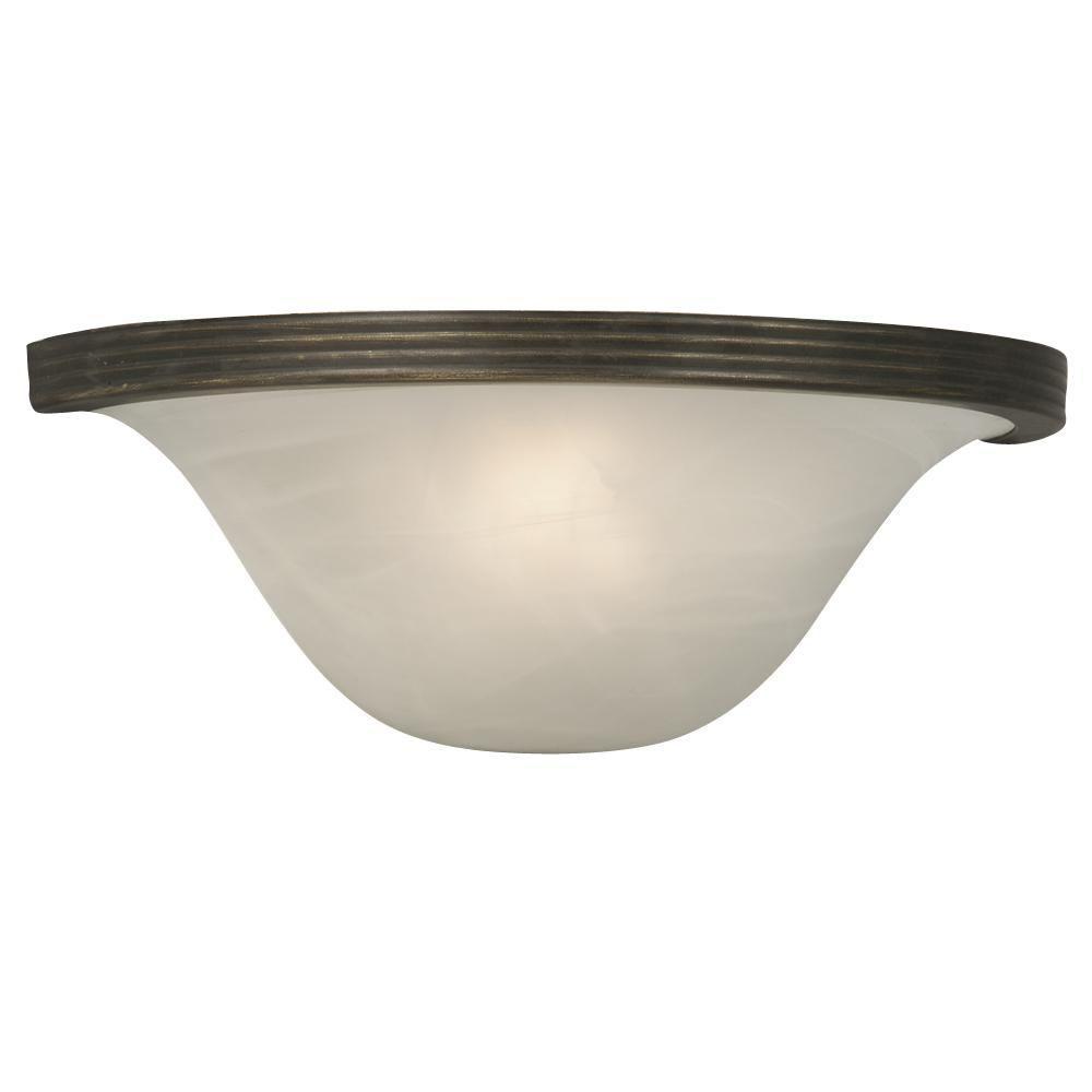 Negron 1-Light Oil-Rubbed Bronze Incandescent Sconce