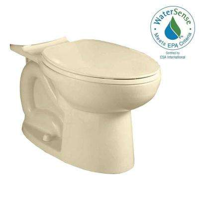 Cadet 3 FloWise Compact Tall Height Elongated Toilet Bowl Only in Bone