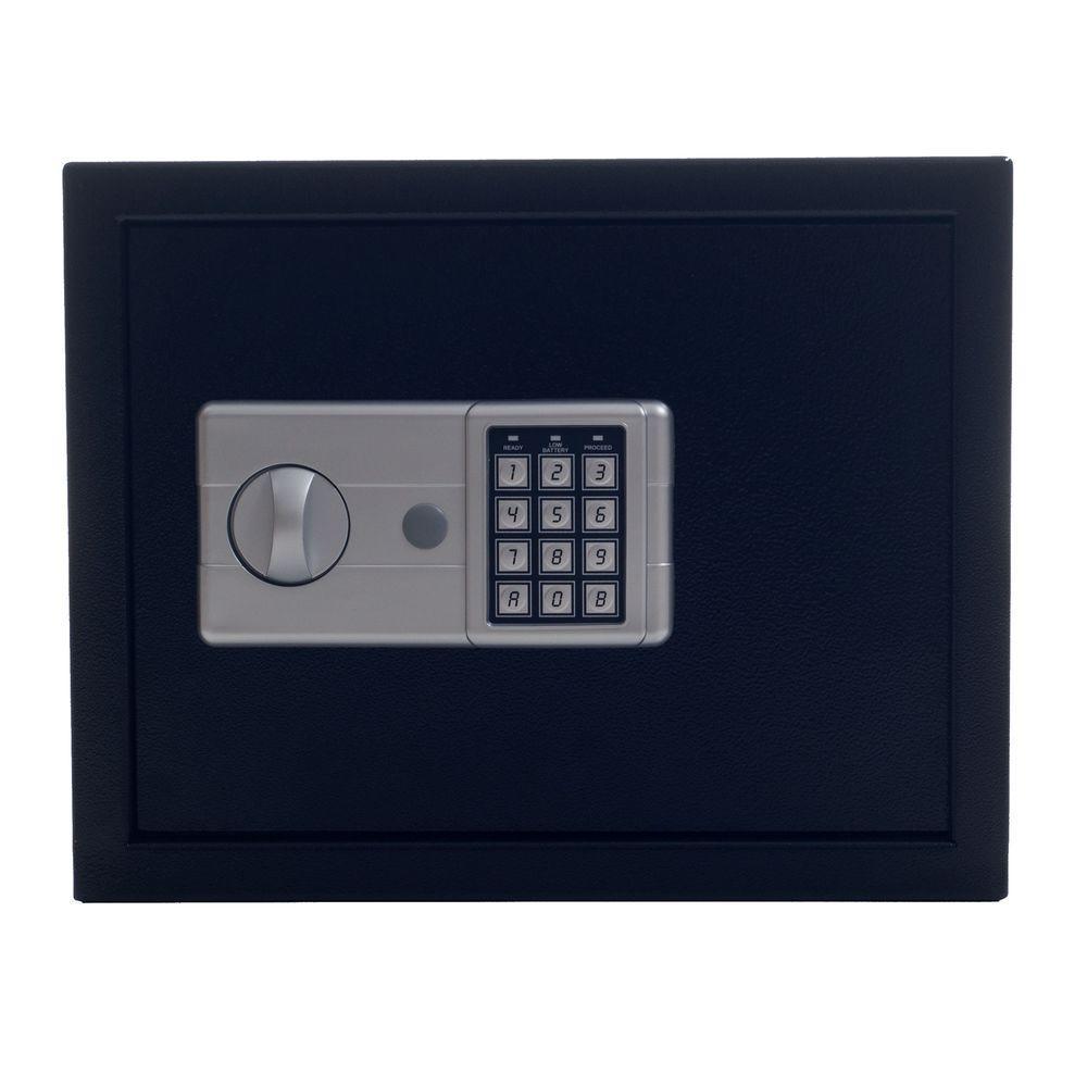 Stalwart 1.25 Cu. Ft. Electronic Large Safe, Black-65-EK