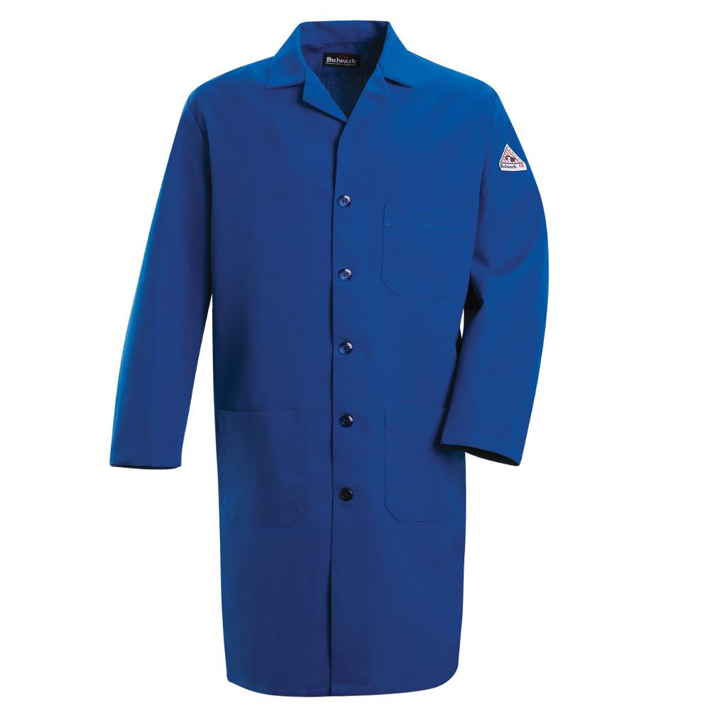 Bulwark Nomex IIIA Men's Large Royal Blue Lab Coat