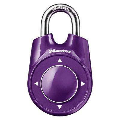 Speed Dial Set-Your-Own Combination Padlock