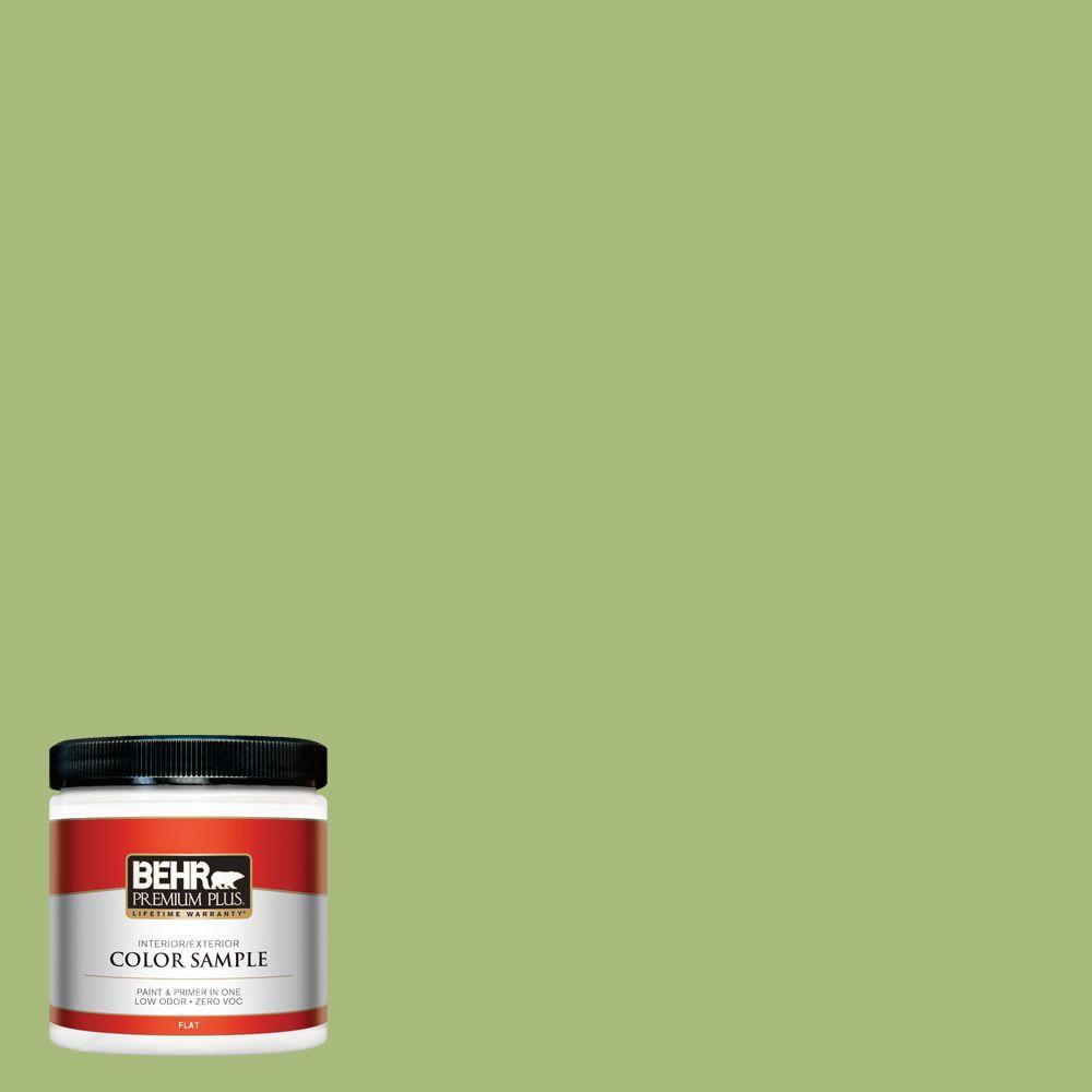 8 oz. #P370-5 Lazy Caterpillar Interior/Exterior Paint Sample