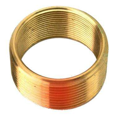 Convert 1.625 in. x 16 Threads to 1.8 in. x 16 Threads Brass Bushing