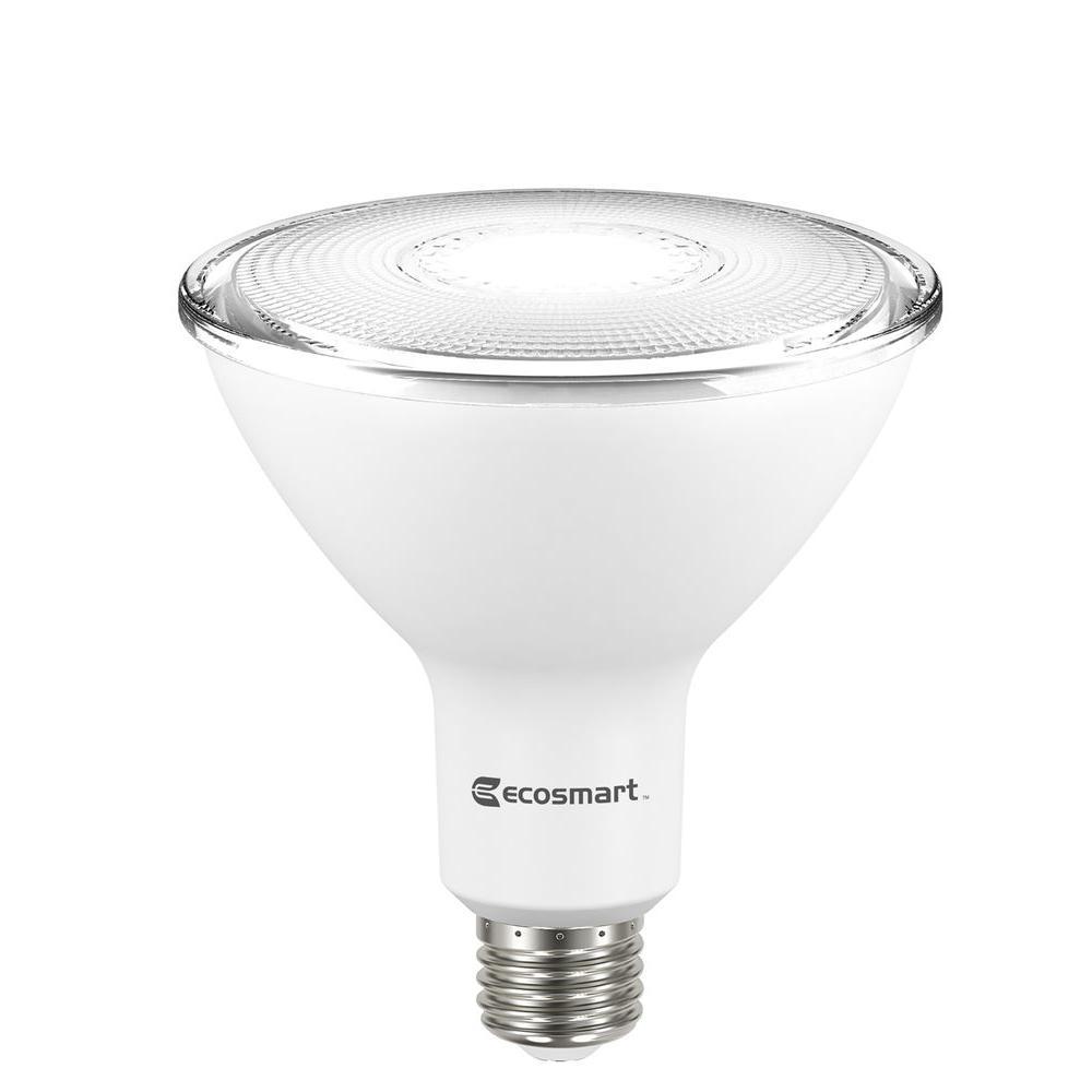 90W Equivalent Bright White PAR38 Non-Dimmable LED Flood Light Bulb (2-Pack)