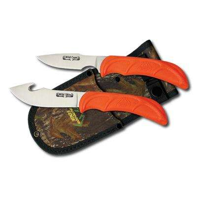 Wild-Pair Knives in Orange
