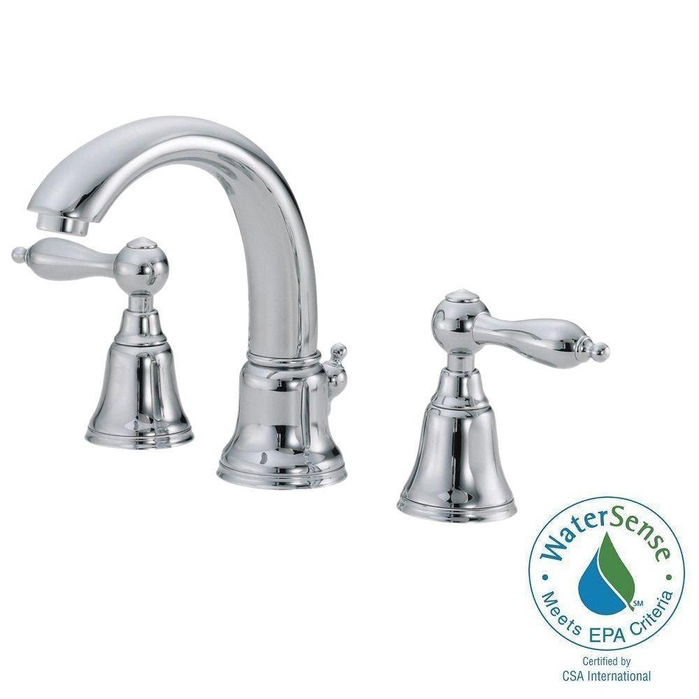Danze Fairmont 4 in. Mini Widespread 2-Handle Mid-Arc Bathroom Faucet in Chrome