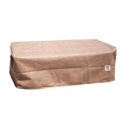 Elite 52 in. L Patio Ottoman or Side Table Cover