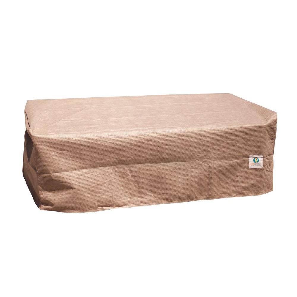 Duck Covers Elite 40 In L Patio Ottoman Or Side Table Cover