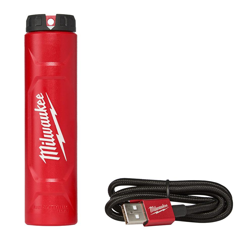 Milwaukee Redlithium Usb Charger 48 59 2002 The Home Depot