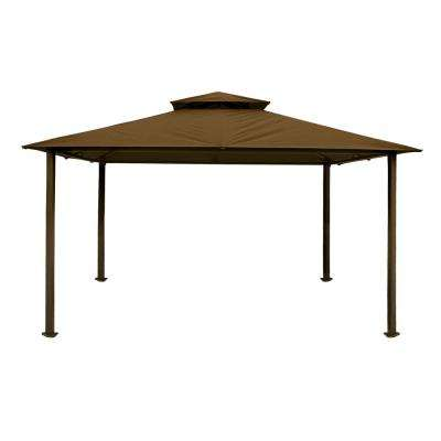 Paragon Gazebo 11 ft. x 14 ft. with Cocoa Top