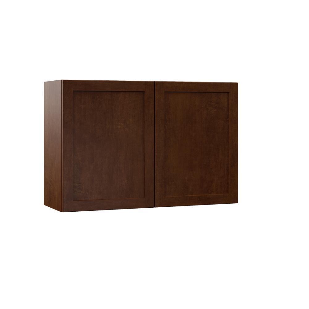 Soleste Embled 36x24x12 In Wall Bridge Kitchen Cabinet E