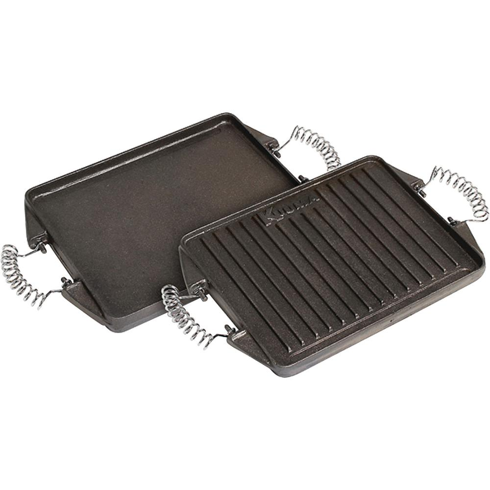 Griddle Replacement Parts : Kuuma cast iron griddle for portable grills the