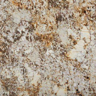 3 in. x 3 in. Granite Countertop Sample in Desert Beach
